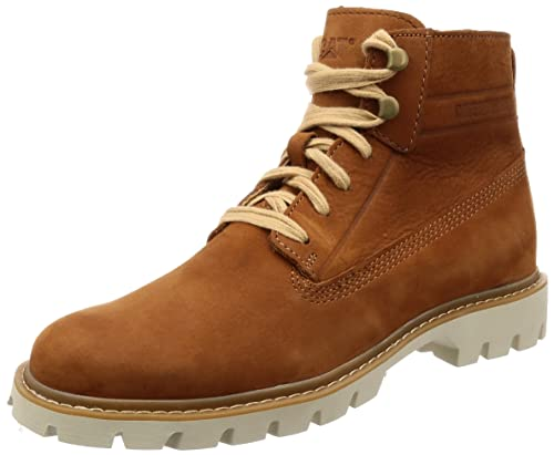 6d828b64a565d Caterpillar Men s Cat Basis Lace-up Boots Ginger 11 UK  Buy Online ...