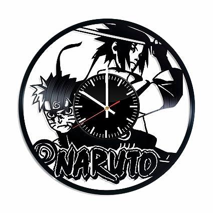 Amazon.com: Naruto vs Sasuke Vinyl Clock - Naruto Ninja ...