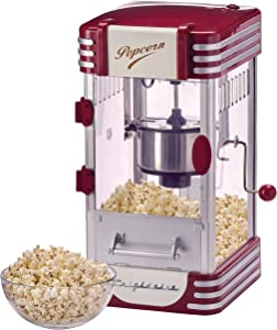 FRIGIDAIRE EPM105-RED Theater-Style Popcorn Maker, Red