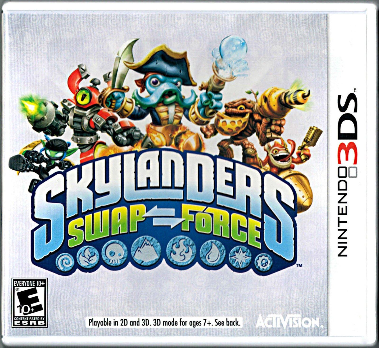 Uncategorized Swap Force Game amazon com 3ds skylanders swap force game only video games only