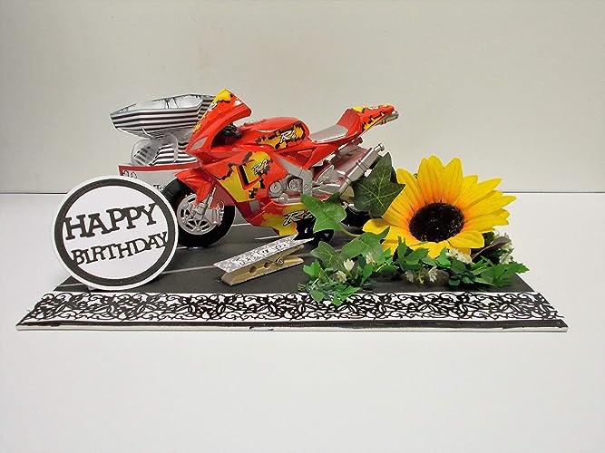 Geldgeschenk Geburtstag Motorrad Geburtstagsgeschenk Amazon De