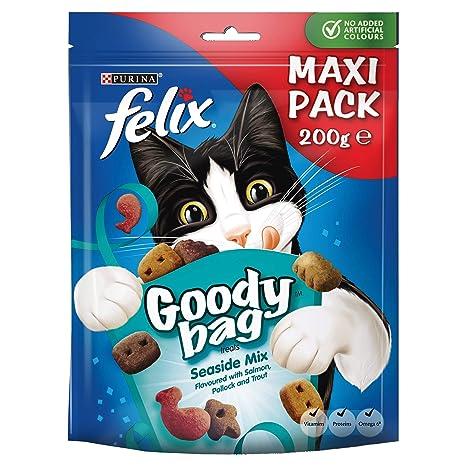 Felix Bolsa de alimento para gatos- Pack de 5 x 200 g