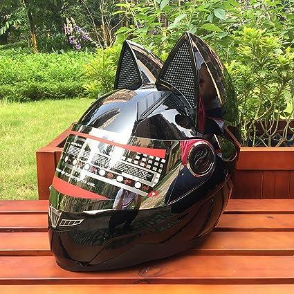 GUO Motorcycle Personality Helmet Predator Warrior Carbon Fiber Helmet