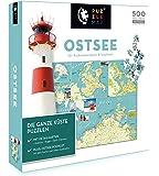 Unbekannt Puzzlemap 88017 - Puzzlemap Ostsee