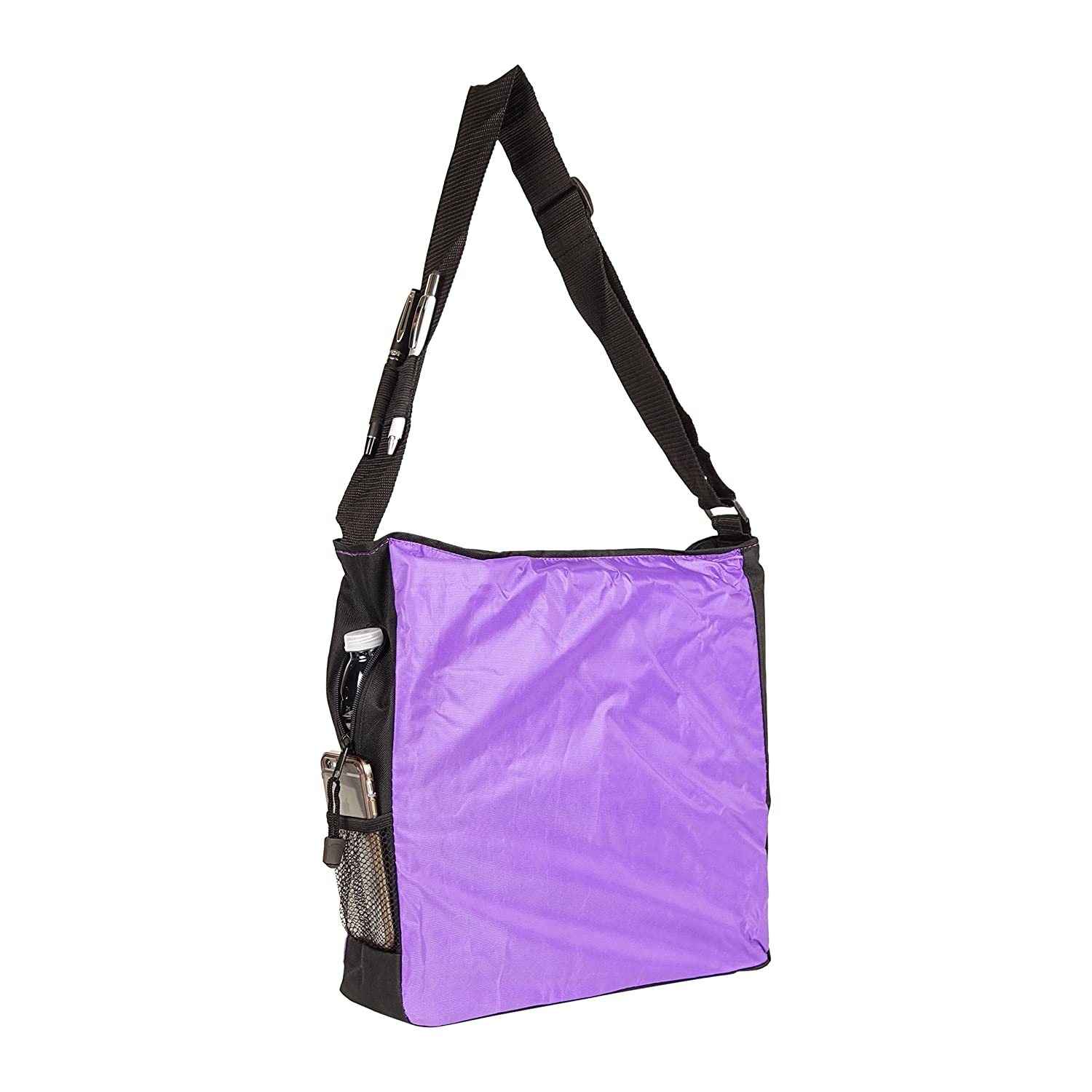 48 Pack NuFazes 13-1//4 x 14-1//2 Utility Multifunction Tote Single Strap Shopping Bag