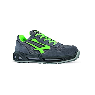 U-Power RC20036-37 RC20036-37 Safety Shoes Range Red Model Point Carpet S1P SRC ESD Size 37: Home Improvement