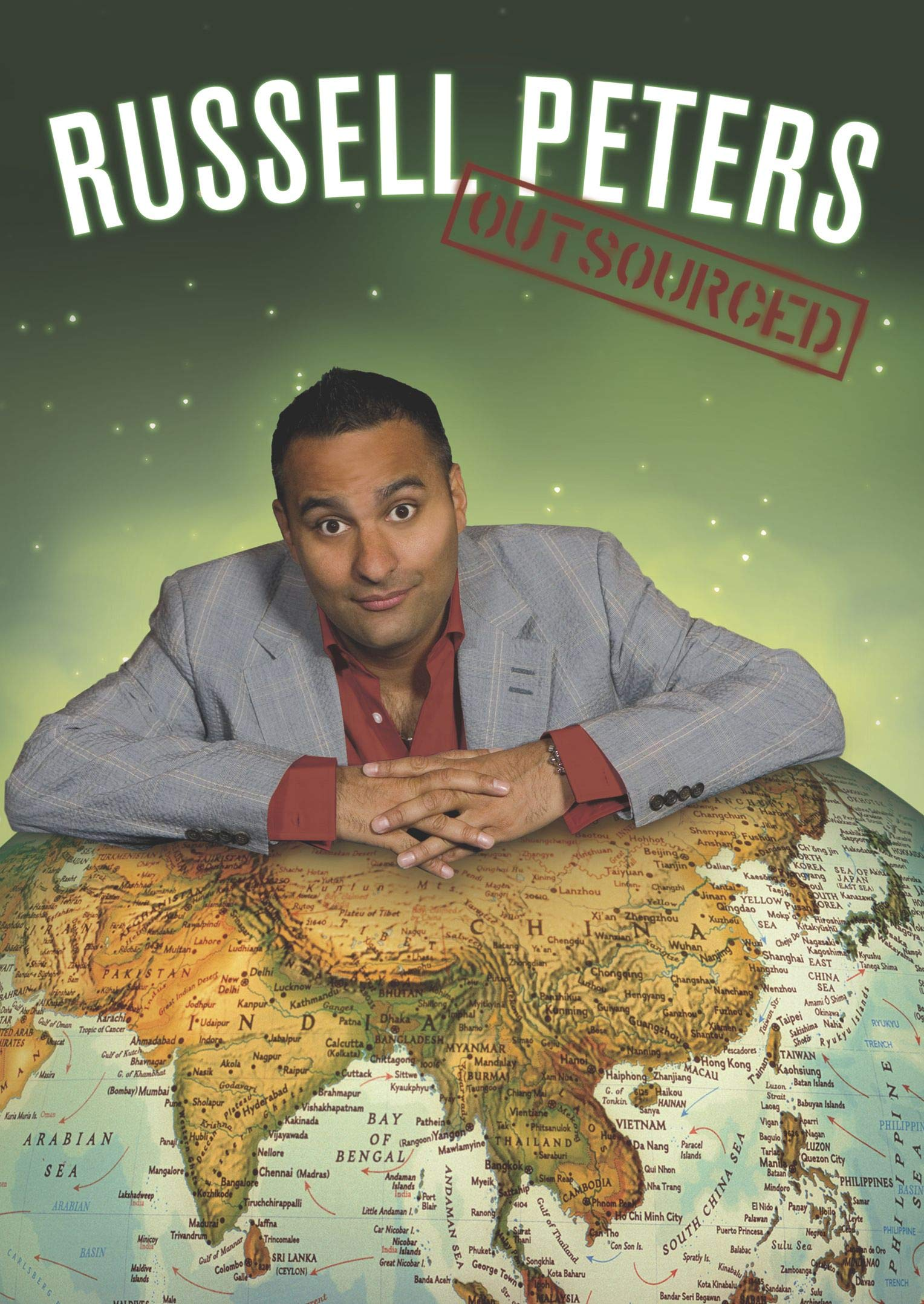 DVD : Russell Peters - Outsourced (DVD)