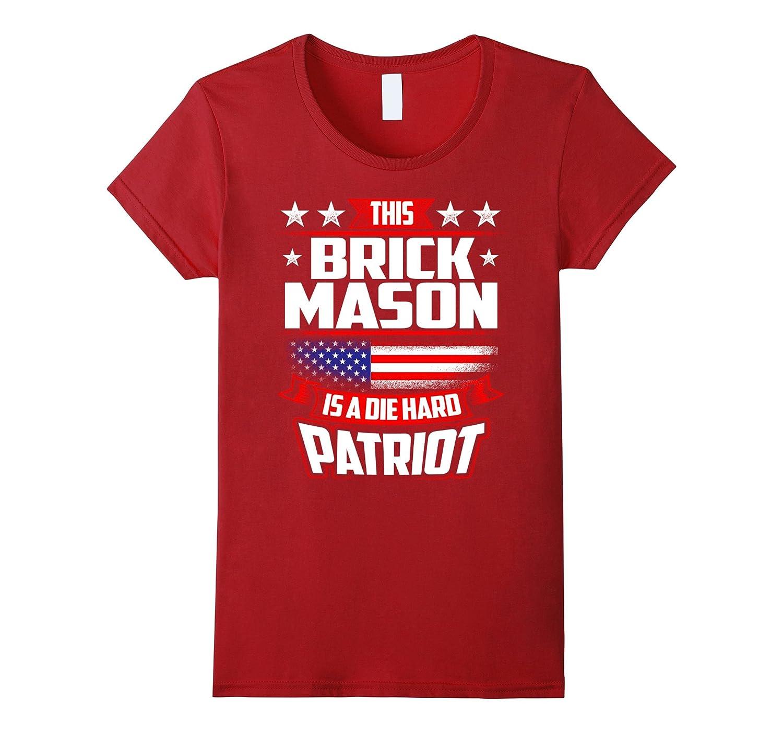 4th Of July Shirt – Brick Mason Gift Independance Day