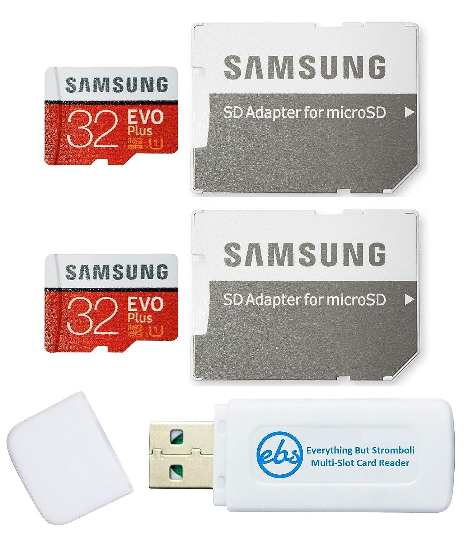 Samsung 32GB EVO Plus Tarjeta MicroSD (2 Pack EVO+ Bundle) Clase ...
