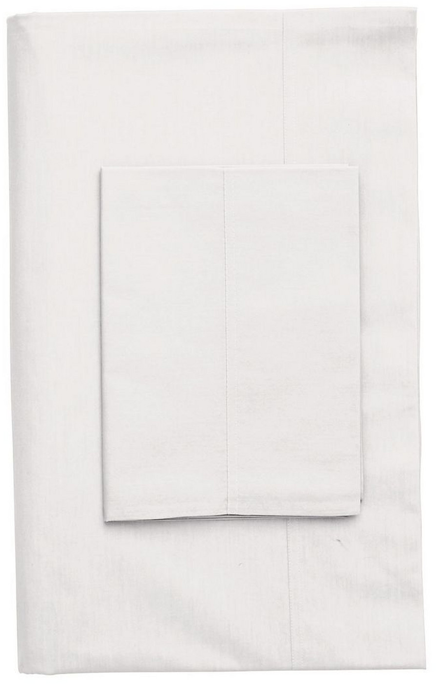 Classic Percale Solid Flat Sheets - The Company Store