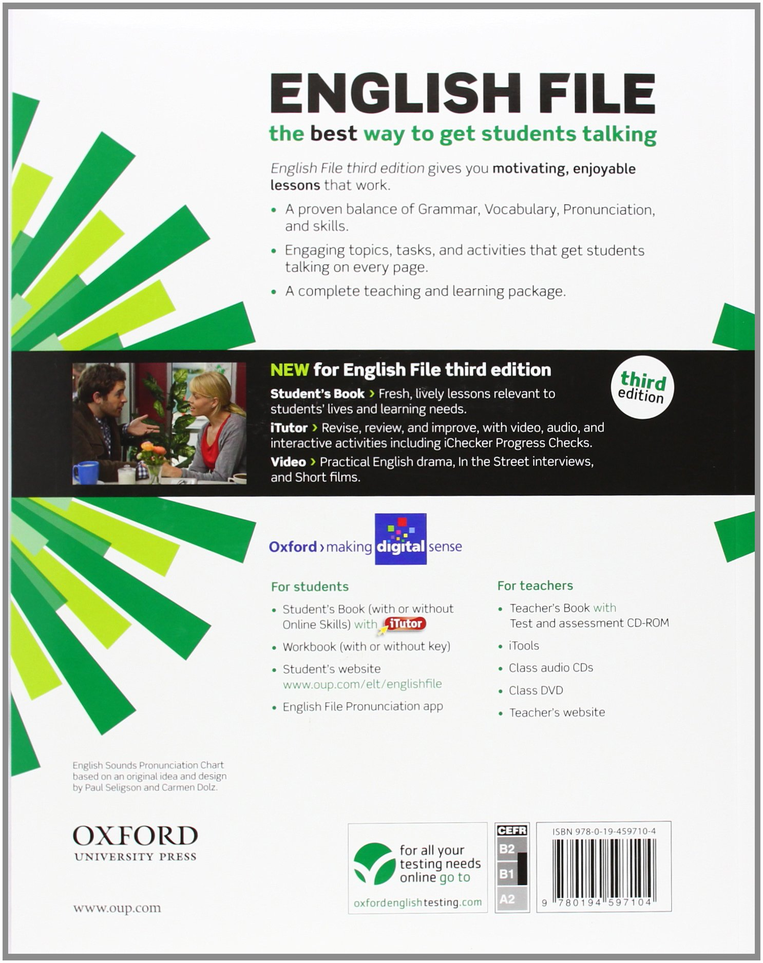 English file third edition intermediate students book with itutor english file third edition intermediate students book with itutor the best way to get your students talking amazon clive oxenden fandeluxe Images