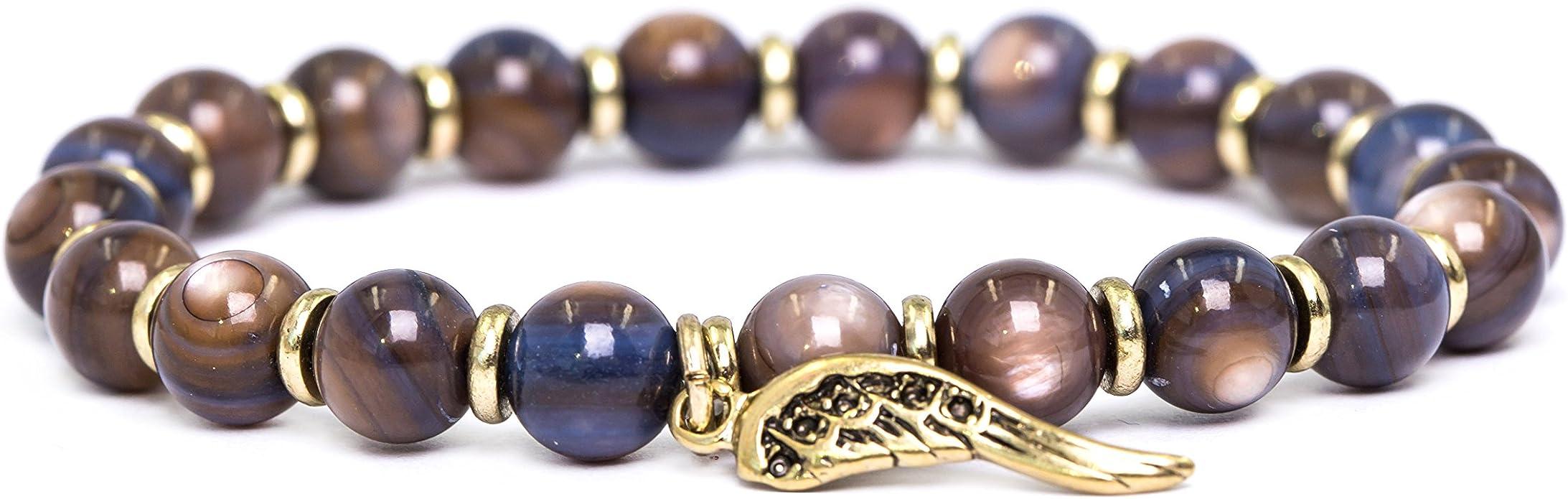 Semiprecious Agate Bracelet Agate Stone Bracelet Semiprecious Stone Beads Bracelet Designer Gemstone Bracelet Two Strand Agate Bracelet