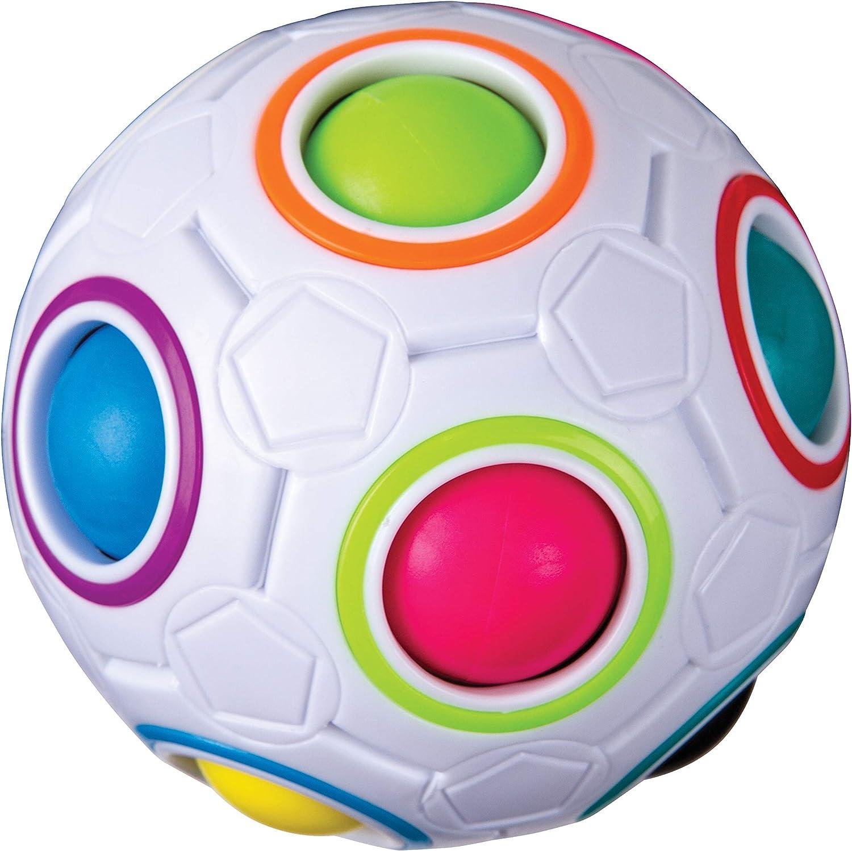 Problem Solving Fidget Ball 11 Multicolor Balls 12 Holes Duncan Color Shift Puzzle Ball