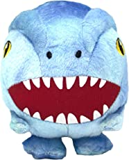 Jurassic World Raptor Plush Ball Body Toy for Dogs | Dinosaur Dog Toy, Soft Plush Raptor Ball Body Squeak Toy