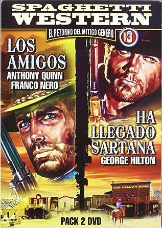 Pack Spaguetti Western 3: Los Amigos + Ha Llegado Sartana DVD ...