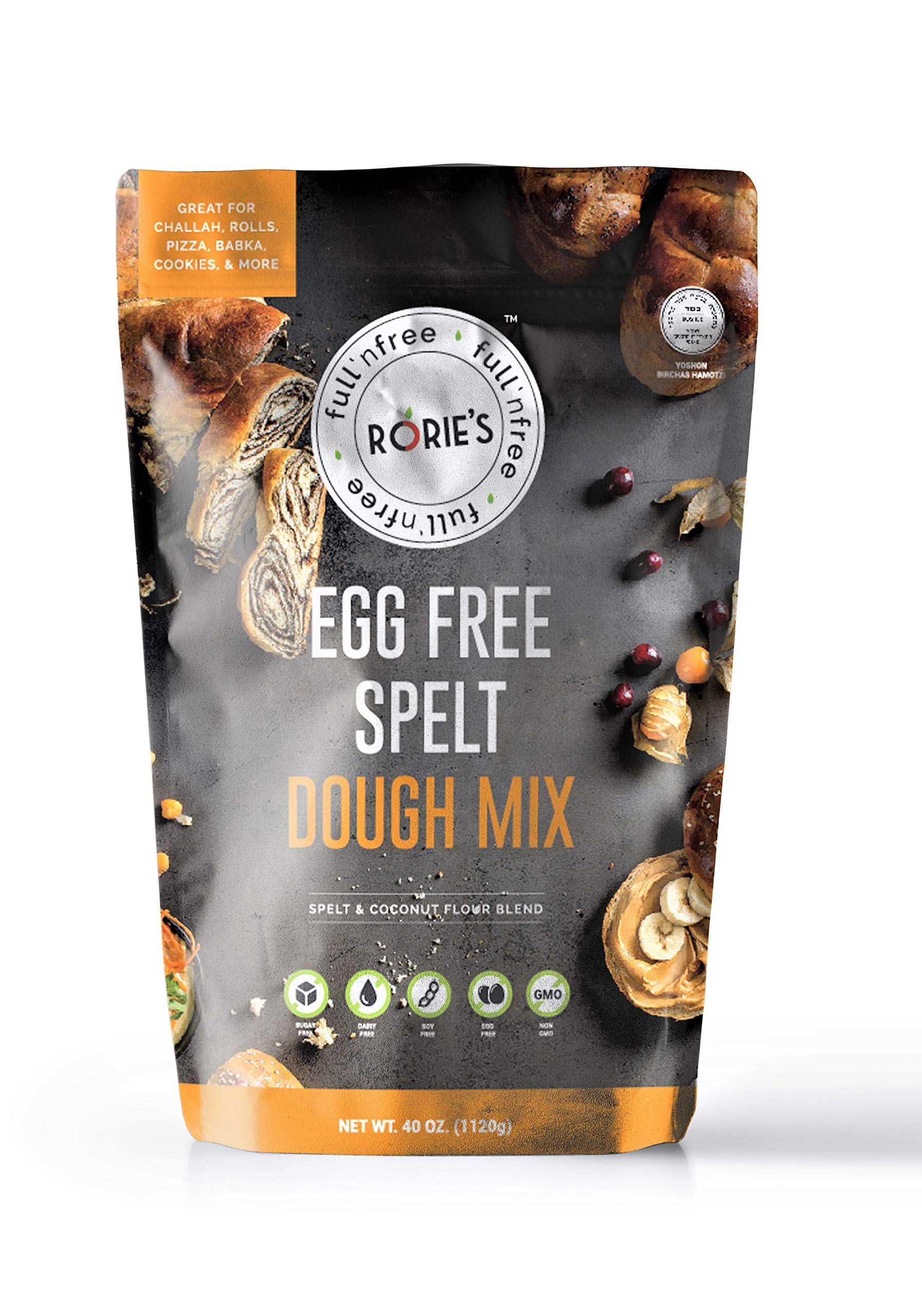 Rories Egg Free Spelt Dough Mix (pack of 3)