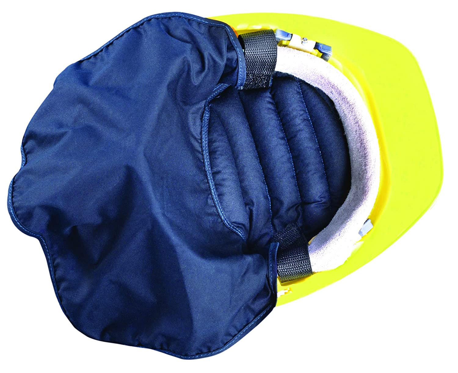 OccuNomix 969-018 MiraCool Hard Hat Pad with Shade, Navy