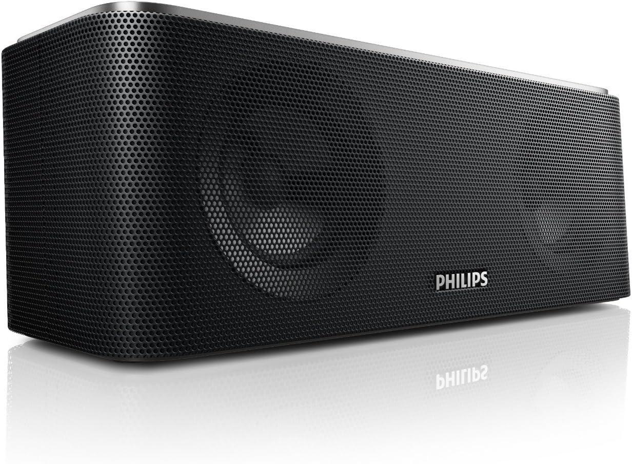 Renewed Philips SB365//37 Wireless Bluetooth Portable Speaker with USB charging