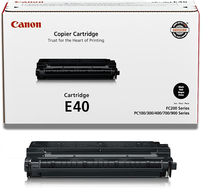 2 Compatible Black Cannon PC-430 Printer Ink Toner Cartridge Replacement for Canon E40//E31//E20 PC430 Personal Digital Copier Machine