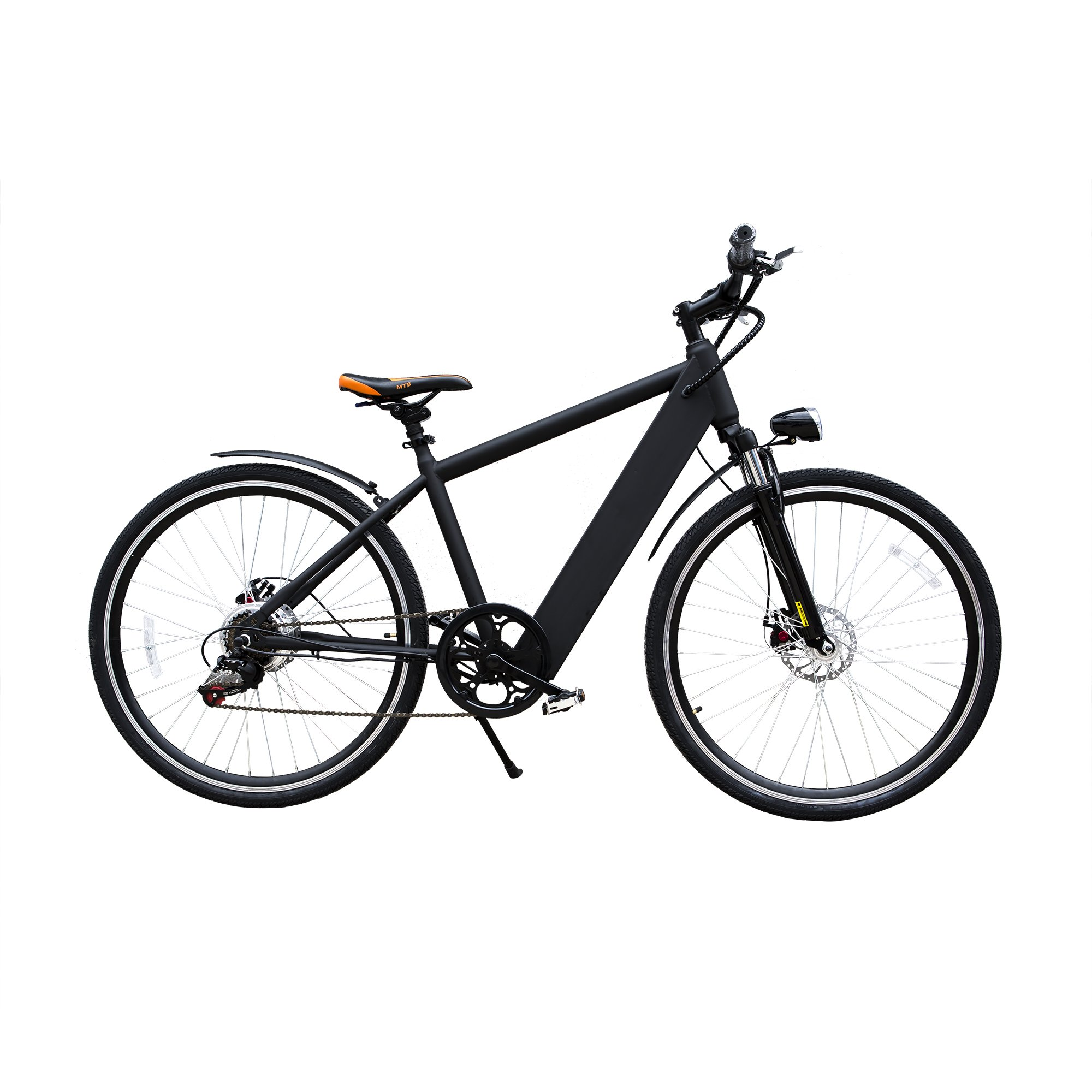 Nakto 26'' 300W Electric Mountaion Bike 6 speed e-Bike Removable 36V10A Lithium Battery