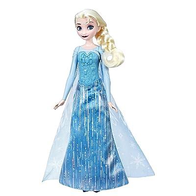 Disney Frozen Shimmer 'N Sing Elsa, Singing Doll: Toys & Games
