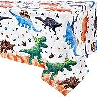 Dinosaurio Mantel - 1PCS 137 x 274cm Suministros para Fiestas de Dinosaurios para Niños Dinosaurio Decoración para…