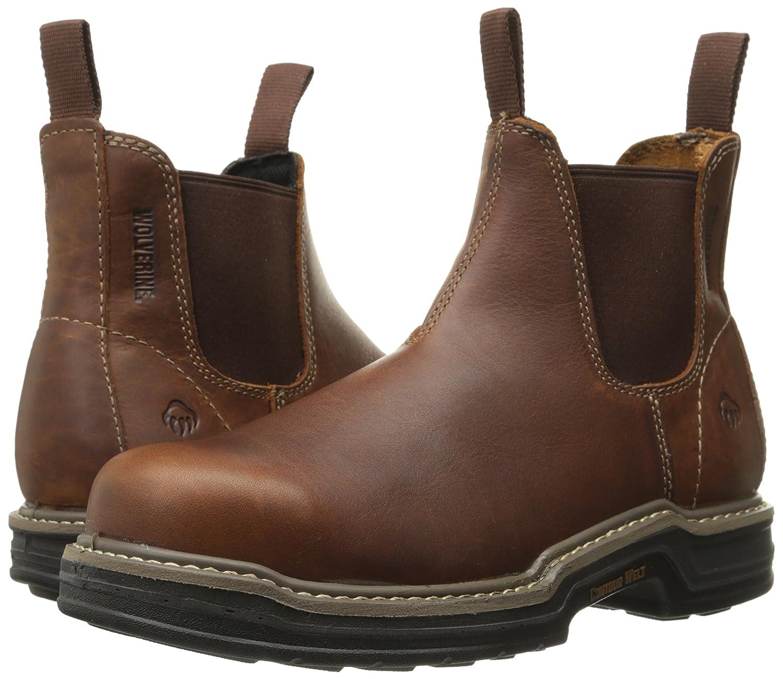 4d0433033db Wolverine Raider Twin-Gore Romeo Steel-Toe Work Boot Men's