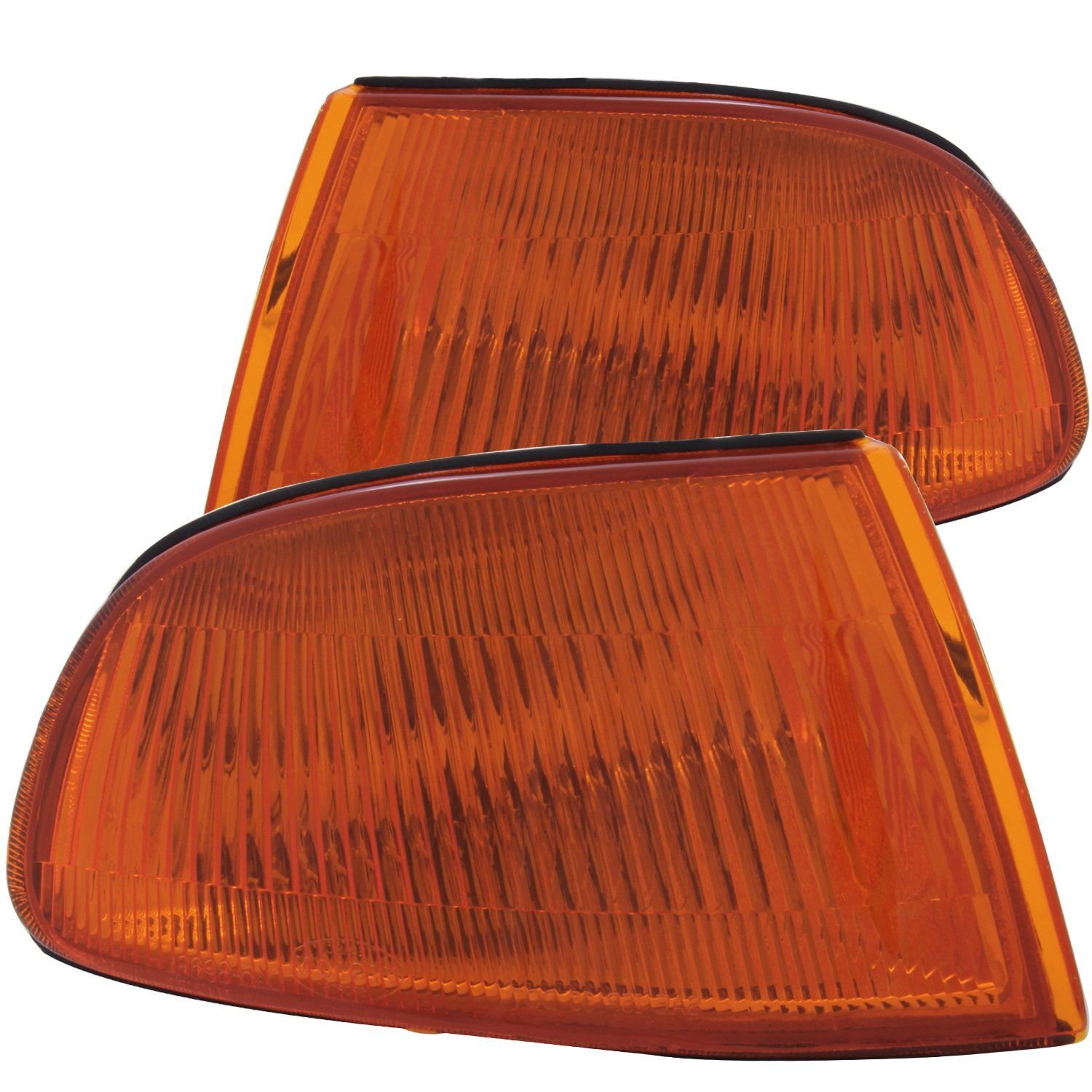 Anzo USA 521019 Honda Civic Euro w/Amber Reflector Cornering Light Assembly - (Sold in Pairs)