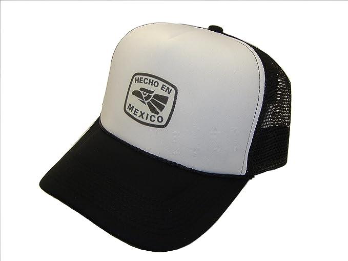 The Hat Shoppe Ths Hecho En Mexico Symbol Center Logo Mesh Trucker