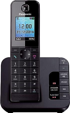 Panasonic KX TGC220EB Cordless Phone with Answering Machine