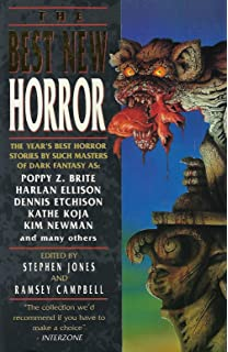 The Best New Horror 6: No. 6 (Mammoth Book of Best New Horror)