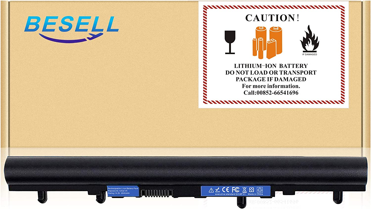 BE·SELL AL12A32 AL12A72 Battery for Acer Aspire V5 Touch V5-551G V5-431 V5-531 V5-551 V5-571 V5-471G V5-571-6726 V5-571-6889 V5-571-6869 V5-571P-6407 V5-571P-6464 E1-510P E1-522 E1-532 E1-572 E1-470P