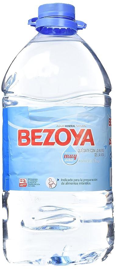 Pañales agua consum