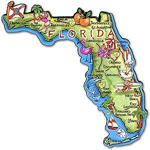 ARTWOOD MAGNET - FLORIDA STATE MAP