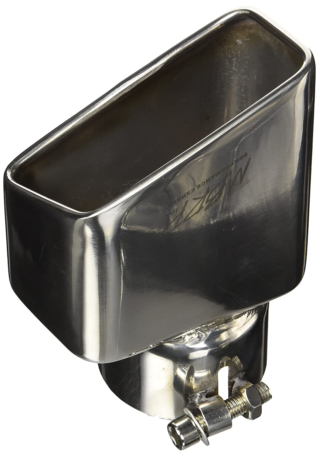 MBRP T5120 7-3//8 Rectangle Angled Cut Passenger Side Exhaust Tip MBRP Exhaust
