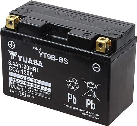 Yuasa Yt9b Bs Powersports Agm Motorrad Batterie Wartungsfrei Preis Inkl Eur 7 50 Pfand Auto