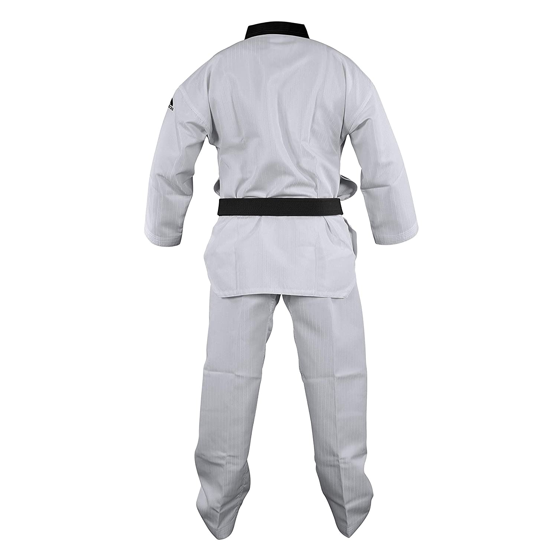 Black-V WTF Approved adidas Taekwondo Dobok