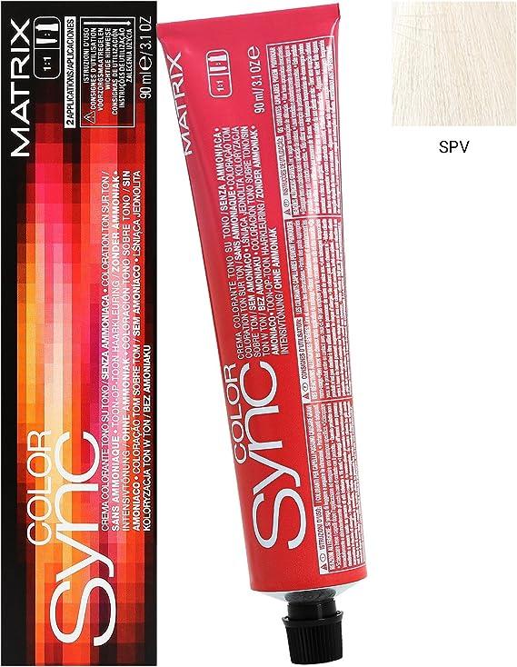 Matriz Color sincronización SPV Sheer color violeta pastel pelo color/tinte 84 ml tubo