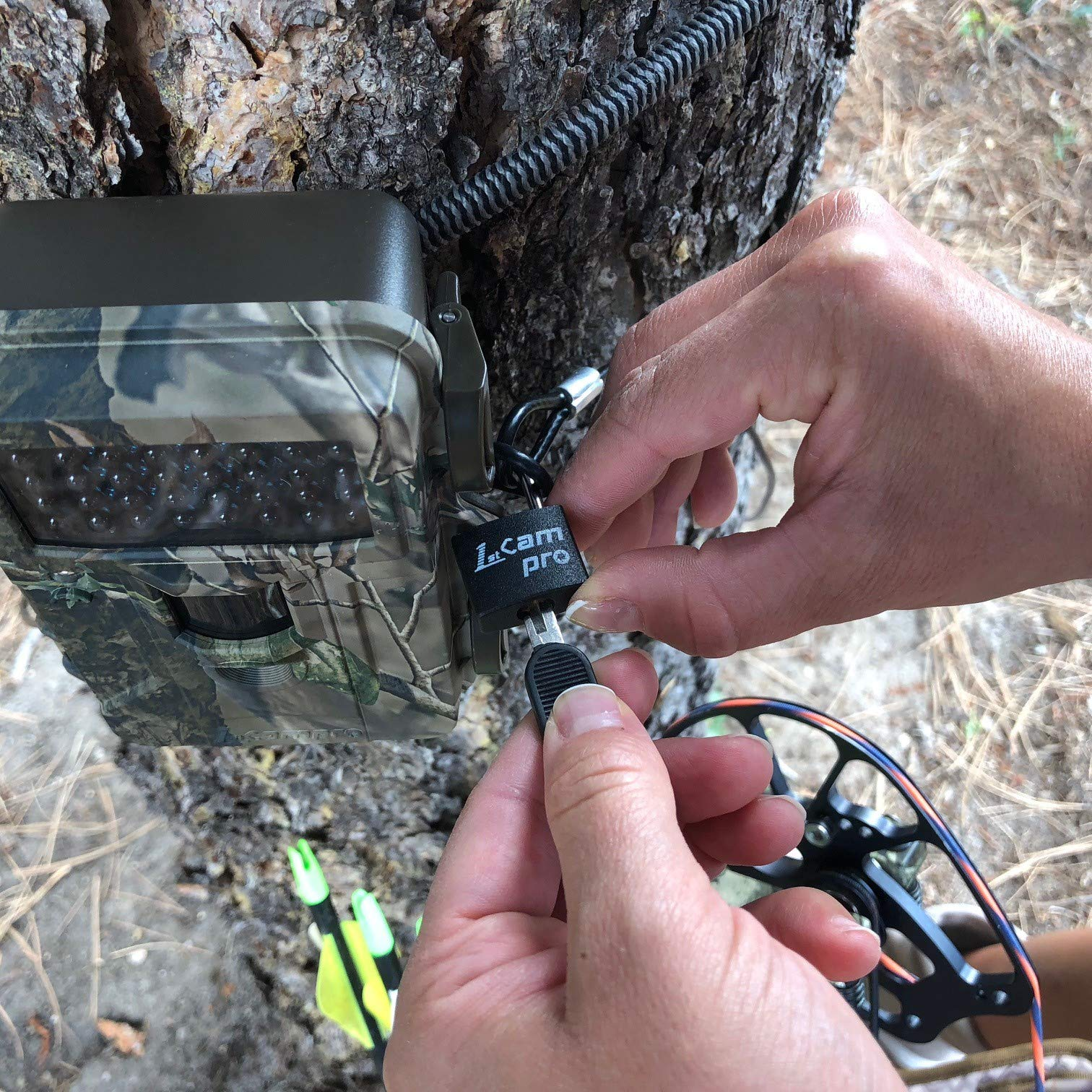 FirstCam Security Cable Lock for Trail Cameras