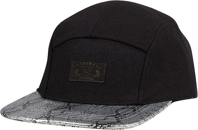 Sakkas CP2173 Original Flatbill Streetwear Baseball Hat - Python Black -  One Size 6e5b74a62dd