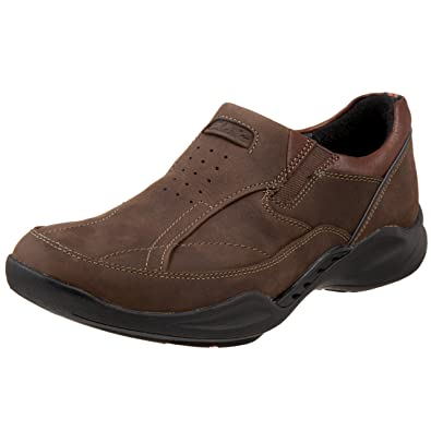 7a5631fc Amazon.com | Clarks Men's Wave.Path Slip-On | Loafers & Slip-Ons