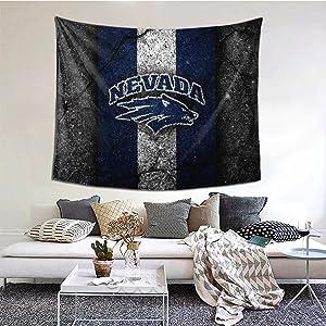 University Of Nevada Tapestry Hanging Blanket Art Wall Bedroom Living Home Room Dorm Decor Watercolor Poster 60*51inch