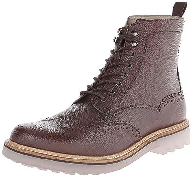 4747a8d6 Amazon.com | Clarks Men's Monmart Rise Boot | Oxford & Derby