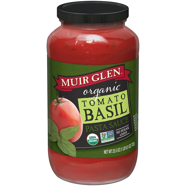 Muir GlenOrganic Tomato Basil Pasta Sauce 25.5 oz Jar