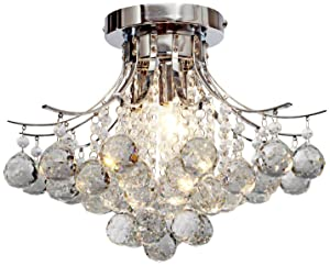 Saint Mossi Chandelier Modern K9 Crystal Raindrop Chandelier Lighting