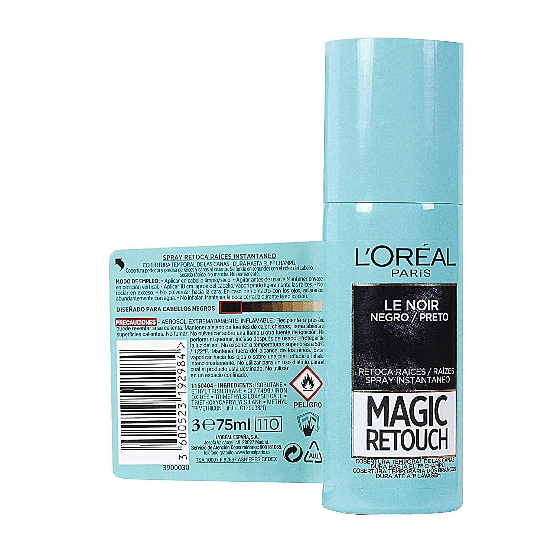 LOréal Paris Magic Retouch Spray Retoca Raíces Negro 100 ml