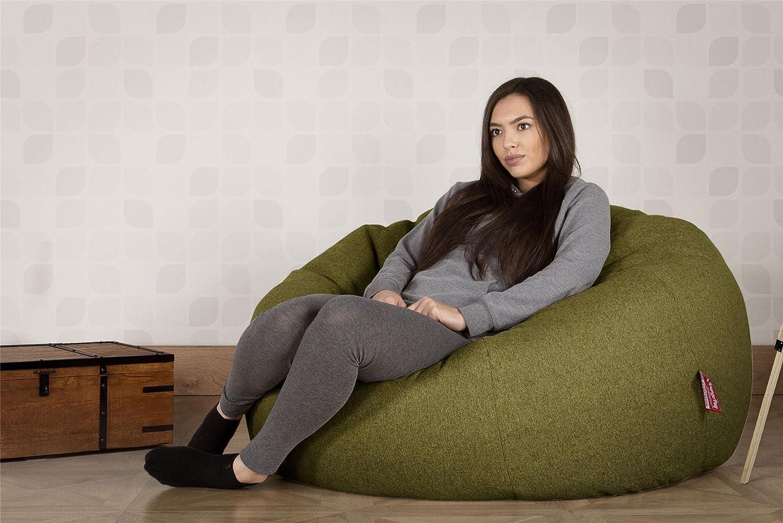 Lounge Pug®, Puff Gigante Sofá Clásica, Lana de Interalli ...