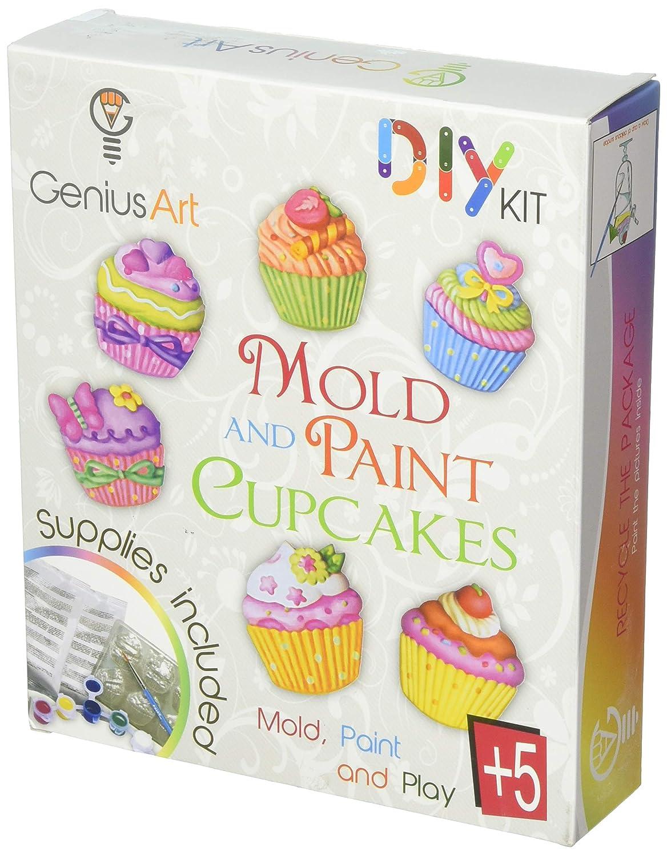Amazon Genius Art Mold And Paint Cupcakes