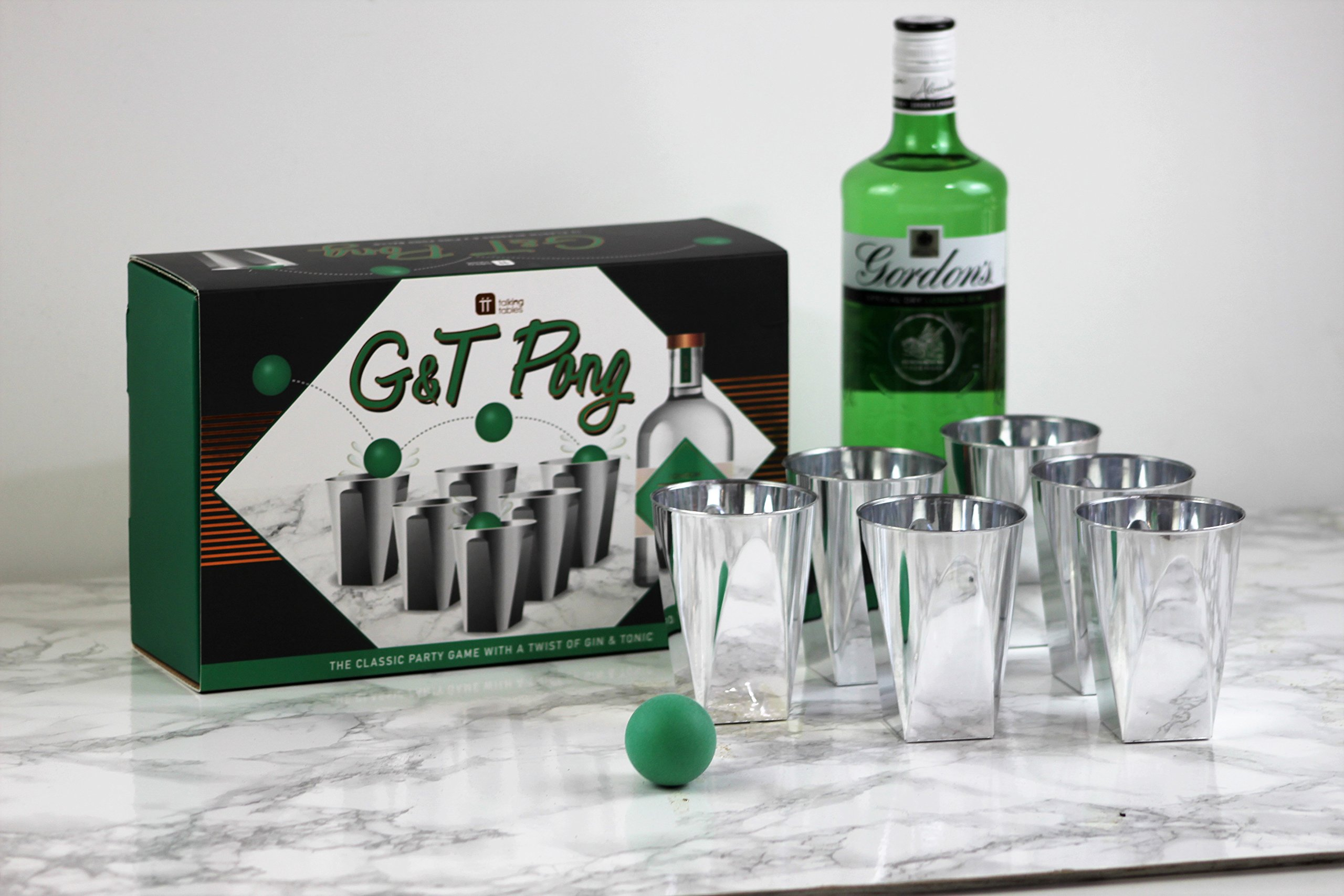 Talking Tables G&T Drinking Game for Parties
