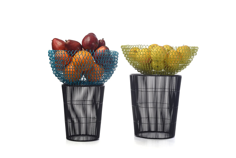 3628-1 Cirque Green Fruit Bowl IMPULSE